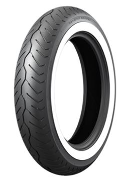 Picture of Bridgestone Exedra G721F White Wall 130/90-16 Front