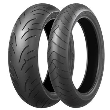 Picture of Bridgestone BT023 PAIR DEAL 120/70ZR17 160/60ZR17 *FREE*DELIVERY* SAVE $125