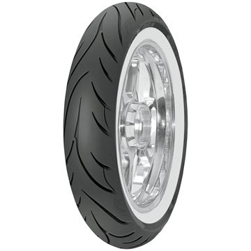 Picture of Avon Cobra AV71 White Wall 120/70R21 Front