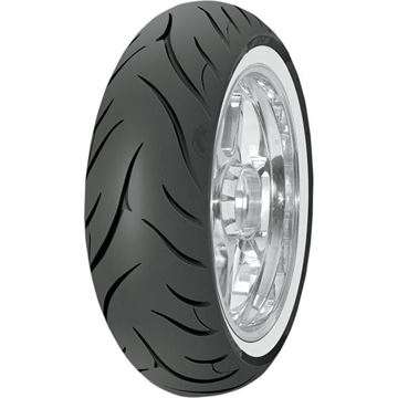 Picture of Avon Cobra AV72 White Wall 180/70R16 Rear