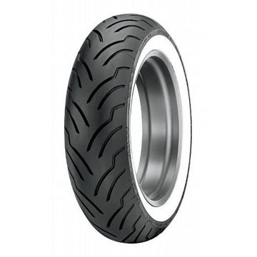 Picture of Dunlop American Elite White Wall 180/65B16 Rear