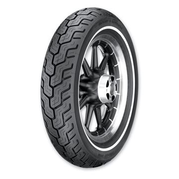 Picture of Dunlop D402 Single White Line MT90HB16 Rear