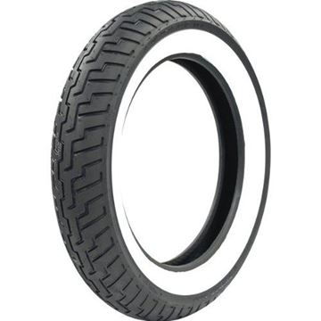 Picture of Dunlop D404F White Wall 140/80-17 Front