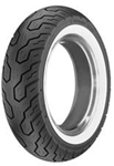 Picture of Dunlop K555 White Wall 170/80H15 Rear