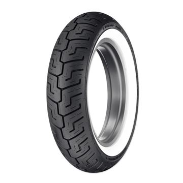 Picture of Dunlop D401 Wide White Wall 150/80B16 Rear