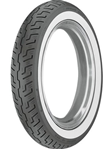 Picture of Dunlop K177F White Wall 120/90HB18 Front