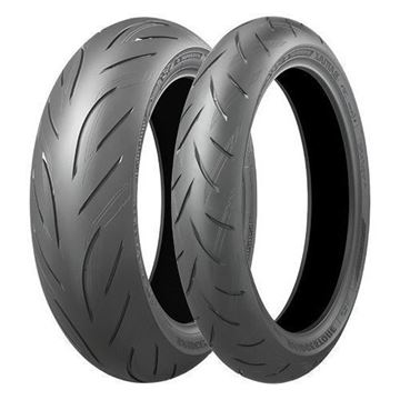 Picture of Bridgestone S21 PAIR DEAL 120/70ZR17  160/60ZR17 *SAVE*$90* *FREE*DELIVERY*