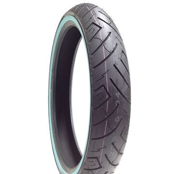 Picture of Shinko SR777 White Wall 90/90-21 Front