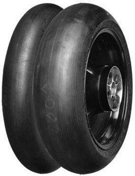Picture of Dunlop KR448 / KR451 PAIR DEAL 120/70-17 (Med) + 200/60-17 (Med)