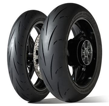 Picture of Dunlop D211 GP Racer PAIR DEAL 120/70-17 (S) + 190/55-17 (M) *FREE*DELIVERY* SAVE $85