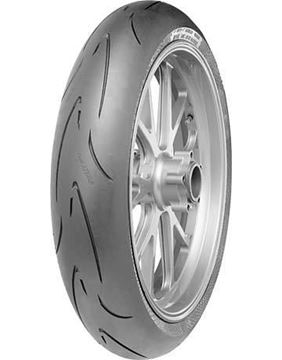 Picture of Conti Race Attack Comp (Medium) 120/70ZR17 Front