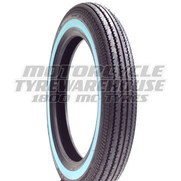 Picture of Shinko E270 White Wall 4.00-18 Universal