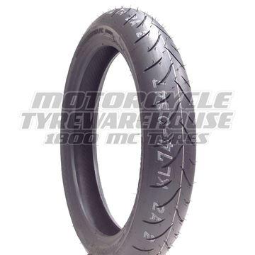 Picture of Bridgestone BT016 PRO 110/80ZR18 Front