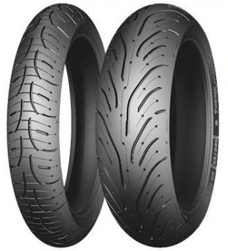 "Picture of Michelin Pilot Road 4 ""GT"" PAIR 120/70ZR17 190/55ZR17 *SAVE*$90*"