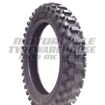Picture of Metzeler MC360 Mid Hard 120/100-18 Rear