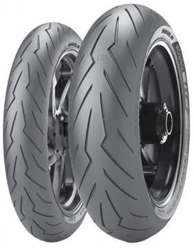 Picture of Pirelli Diablo Rosso III PAIR DEAL 110/70ZR17 + 150/60ZR17 *FREE*DELIVERY*