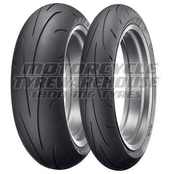 Picture of Dunlop Q3+ PAIR 120/60ZR17 160/60ZR17 *FREE*DELIVERY* SAVE $75