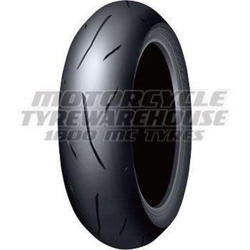 Picture of Dunlop Alpha 14Z 180/55ZR17 Rear