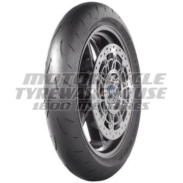 Picture of Dunlop D212 GP Racer MEDIUM 120/70ZR17 Front