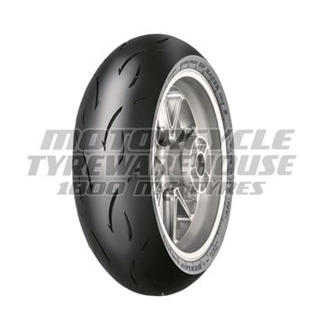Picture of Dunlop D212 GP Racer MEDIUM 180/55ZR17 Rear