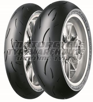 Picture of Dunlop D212 GP Racer PAIR DEAL 120/70ZR17 (M) + 190/55ZR17 (H) *SAVE*$80*