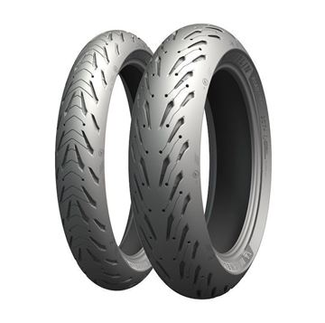 Picture of Michelin Road 5 PAIR DEAL 120/60-17 + 160/60-17 *FREE*DELIVERY*