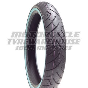 Picture of Shinko SR777 White Wall 120/70-21 Front