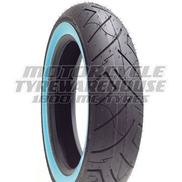 Picture of Shinko SR777 White Wall 130/90B16 Front (4 ply)