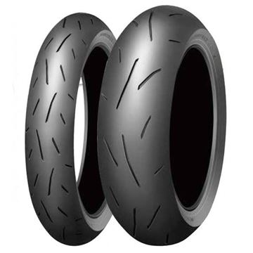 Picture of Dunlop Alpha PAIR DEAL 120/70ZR17 160/60ZR17 *FREE*DELIVERY* SAVE $110