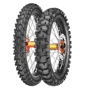 Picture of Metzeler MC360 Mid Hard PAIR DEAL 80/100-21 + 120/100-18 *FREE*DELIVERY*
