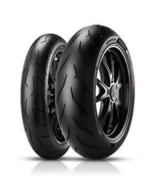 Picture of Pirelli Diablo Rosso Corsa PAIR DEAL120/70-17 + 160/60-17 *FREE*DELIVERY*