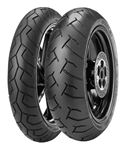 Picture of Pirelli Diablo PAIR DEAL 120/70-17 + 200/40-17 *FREE*DELIVERY*