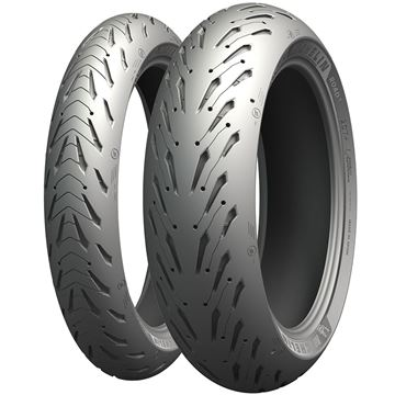 Picture of Michelin Road 5 Trail PAIR DEAL 110/80-19 + 150/70-17 *FREE*DELIVERY*