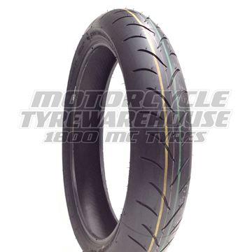 Picture of Bridgestone BT016 110/80ZR18 Front