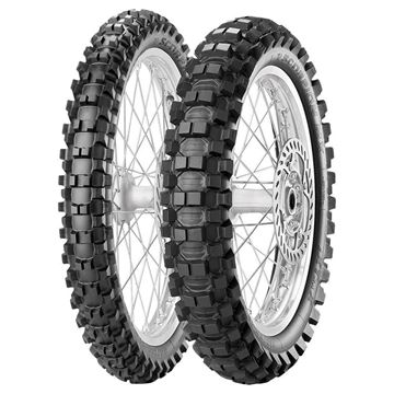Picture of Pirelli Scorpion MX Extra X PAIR DEAL 80/100-21 100/90-19 *FREE*DELIVERY*