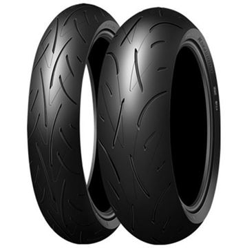 Picture of Dunlop Roadsport PAIR DEAL 130/70ZR16 180/55ZR17 *FREE*DELIVERY* SAVE $110