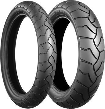 Picture of Bridgestone BW501 / 502 PAIR DEAL 90/90-21 + 130/80R17 *FREE*DELIVERY* *SAVE*$165*
