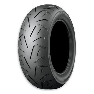 Picture of Bridgestone Exedra G852R White Wall 240/55VR16 Rear