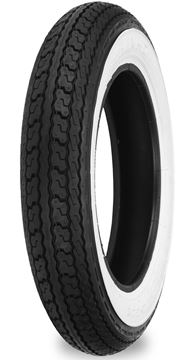 Picture of Shinko SR550 3.50-8 White Wall Universal