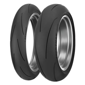 Picture of Dunlop Q4 PAIR DEAL 120/70ZR17 + 200/55ZR17 *FREE*DELIVERY*