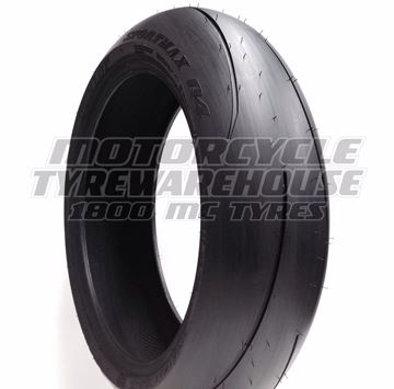 Picture of Dunlop Q4 180/55ZR17 Rear
