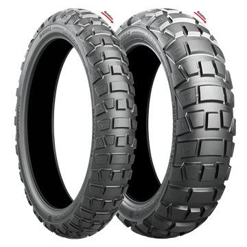 Picture of Bridgestone AX41 Adventurecross PAIR DEAL 110/80B19 + 140/80B17 *FREE*DELIVERY*
