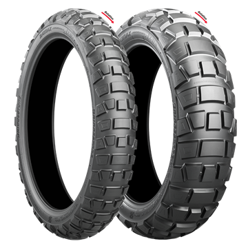 Picture of Bridgestone AX41 Adventurecross PAIR DEAL 100/90-19 + 140/80B17 *FREE*DELIVERY*