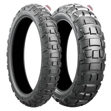 Picture of Bridgestone AX41 Adventurecross PAIR DEAL 110/80B19 + 150/70B18 *FREE*DELIVERY*