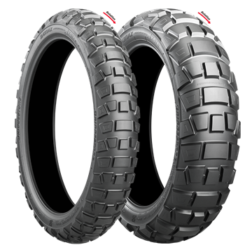 Picture of Bridgestone AX41 Adventurecross PAIR DEAL 120/70B19 + 170/60B17 *FREE*DELIVERY*