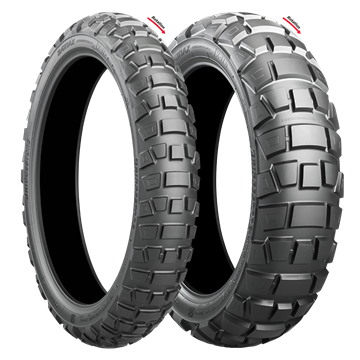 Picture of Bridgestone AX41 Adventurecross PAIR DEAL 90/90-21 + 140/80B17 *FREE*DELIVERY*