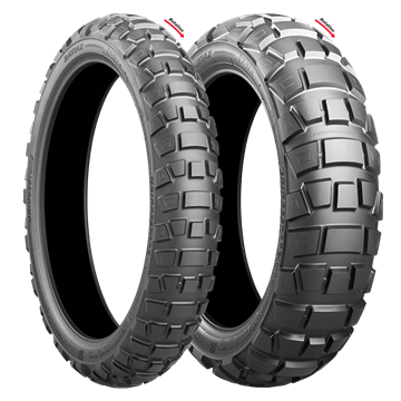 Picture of Bridgestone AX41 Adventurecross PAIR DEAL 90/90-21 + 150/70B17 *FREE*DELIVERY*