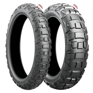 Picture of Bridgestone AX41 Adventurecross PAIR DEAL 90/90-21 + 150/70B18 *FREE*DELIVERY*