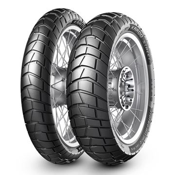Picture of Metzeler Karoo Street PAIR DEAL 90/90-21 + 130/80R17 *FREE*DELIVERY* SAVE $35