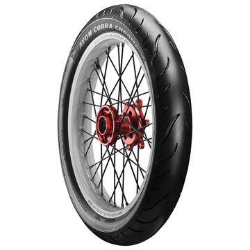 Picture of Avon Cobra Chrome AV91 130/70R18 (63H) Front